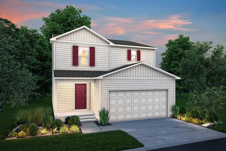 Exterior featured in the 1602 By Century Complete in Davenport-Moline, IA