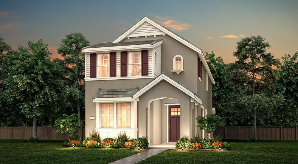 Exterior featured in the Plan 2 By Century Communities in Stockton-Lodi, CA