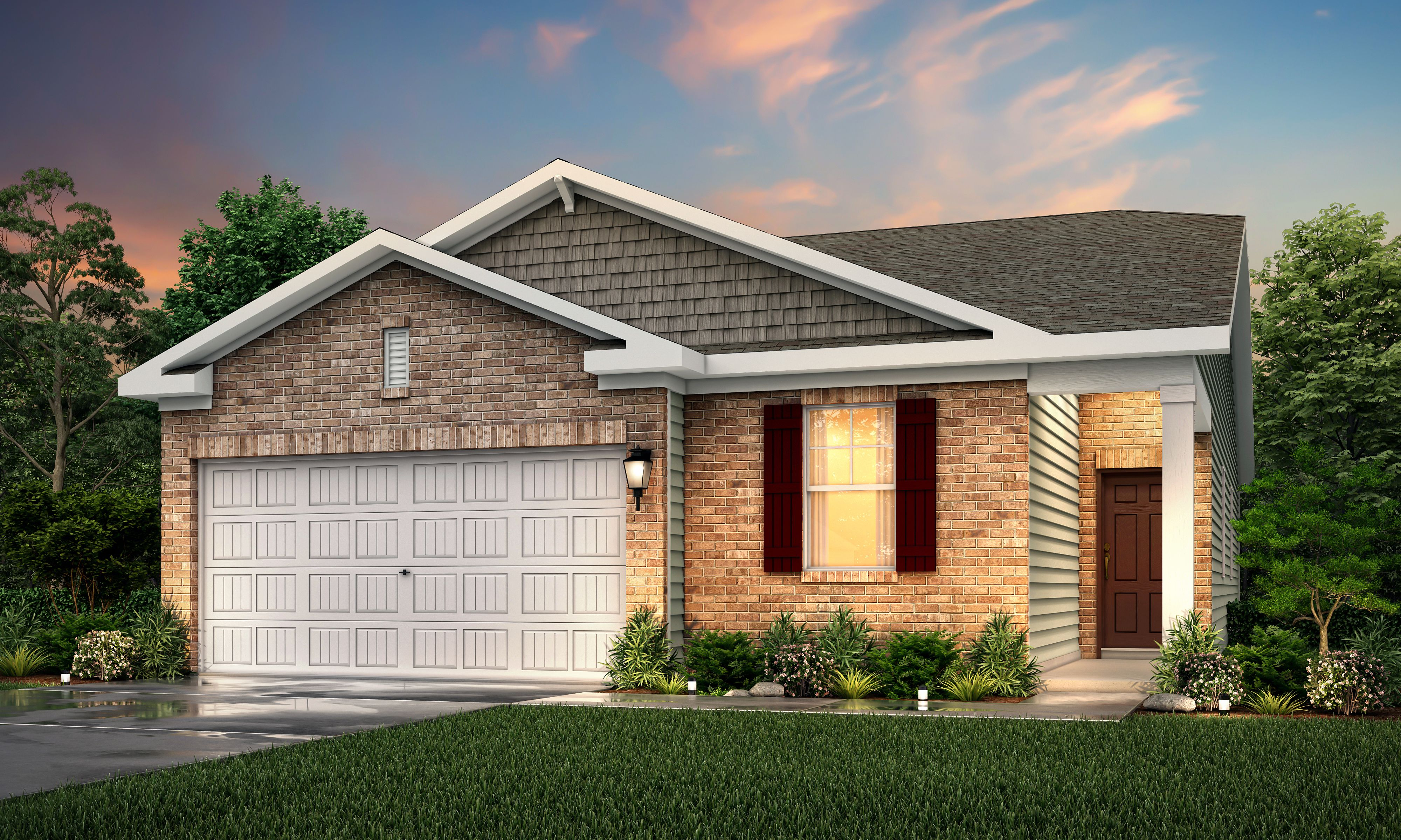 Exterior featured in the Romare By Century Communities in Nashville, TN