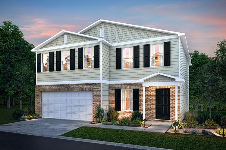 Exterior featured in the 2402 By Century Complete in Kokomo, IN