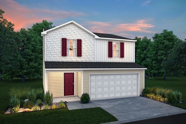 Exterior featured in the 1602 By Century Complete in Kokomo, IN