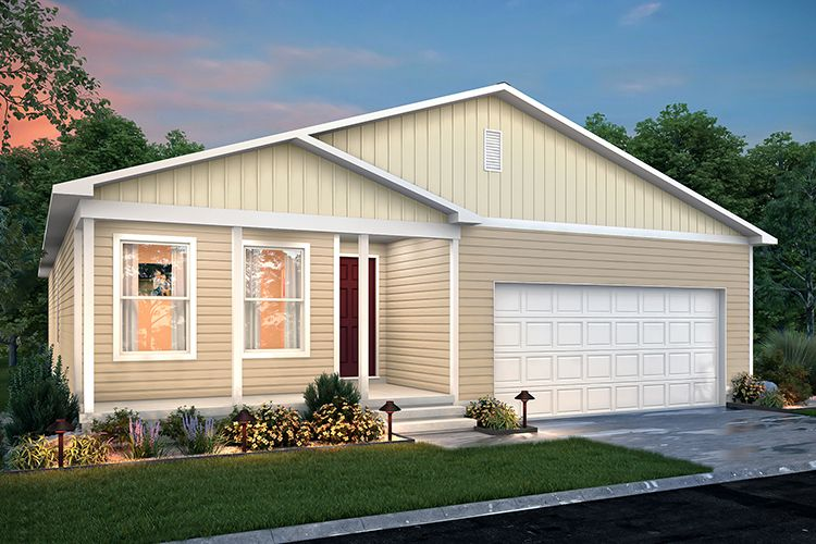 Exterior featured in the 1402 By Century Complete in Flint, MI