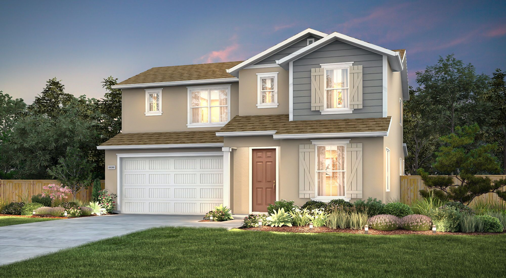 Exterior featured in the Ballad By Century Communities in Fresno, CA