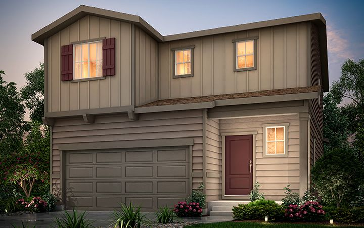 Exterior featured in the Cobalt (Residence 29201) By Century Communities in Colorado Springs, CO
