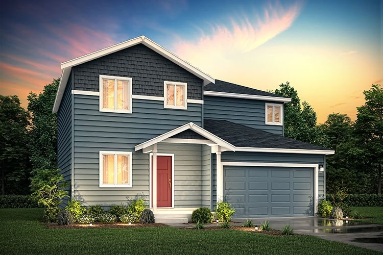 Exterior featured in the 2155-2 Christy By Century Communities in Olympia, WA