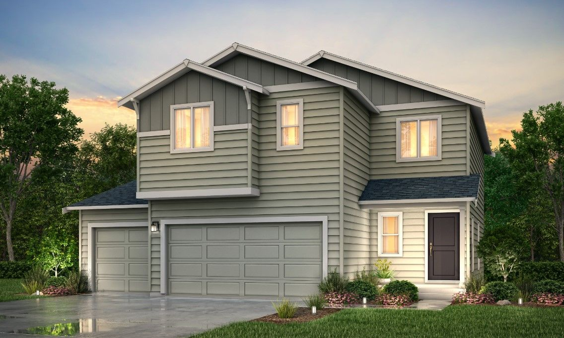 Exterior featured in the Viola By Century Communities in Olympia, WA