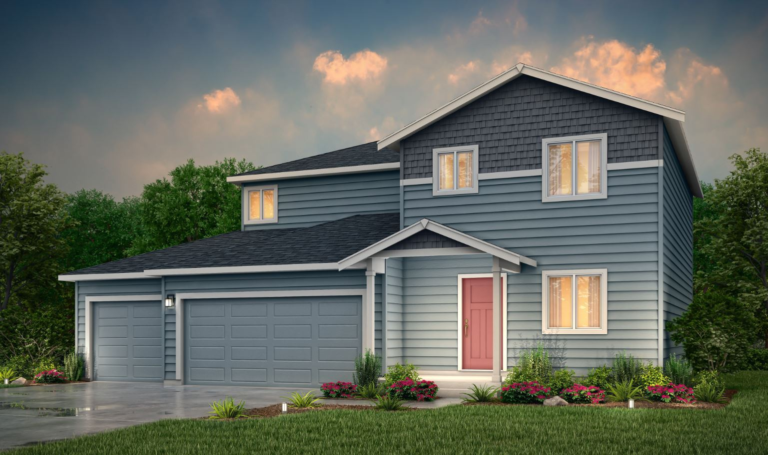 Exterior featured in the Christy By Century Communities in Olympia, WA