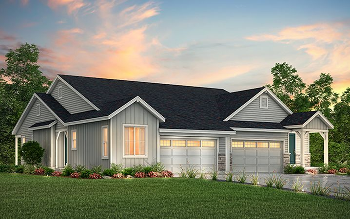 Exterior featured in the Crestview (Residence 30120) By Century Communities in Colorado Springs, CO