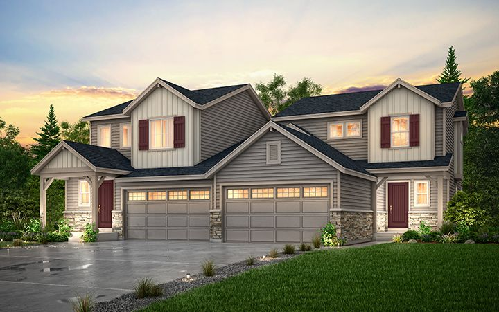 Exterior featured in the Ascent (Residence 30210) By Century Communities in Colorado Springs, CO