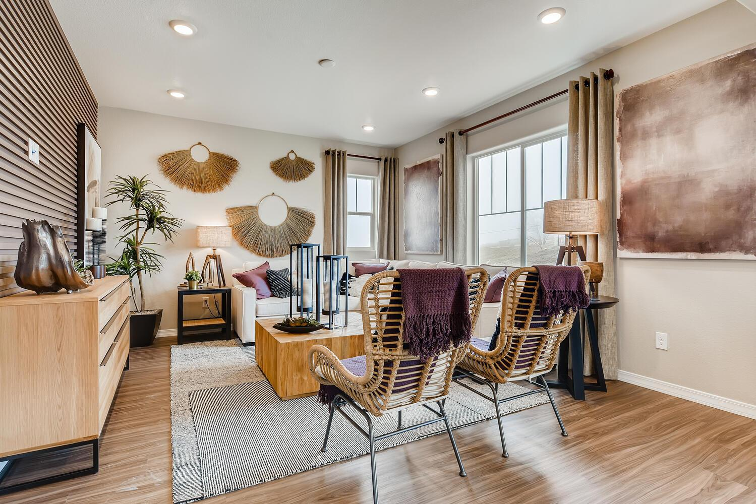 Living Area featured in the Platinum (Residence 29204) By Century Communities