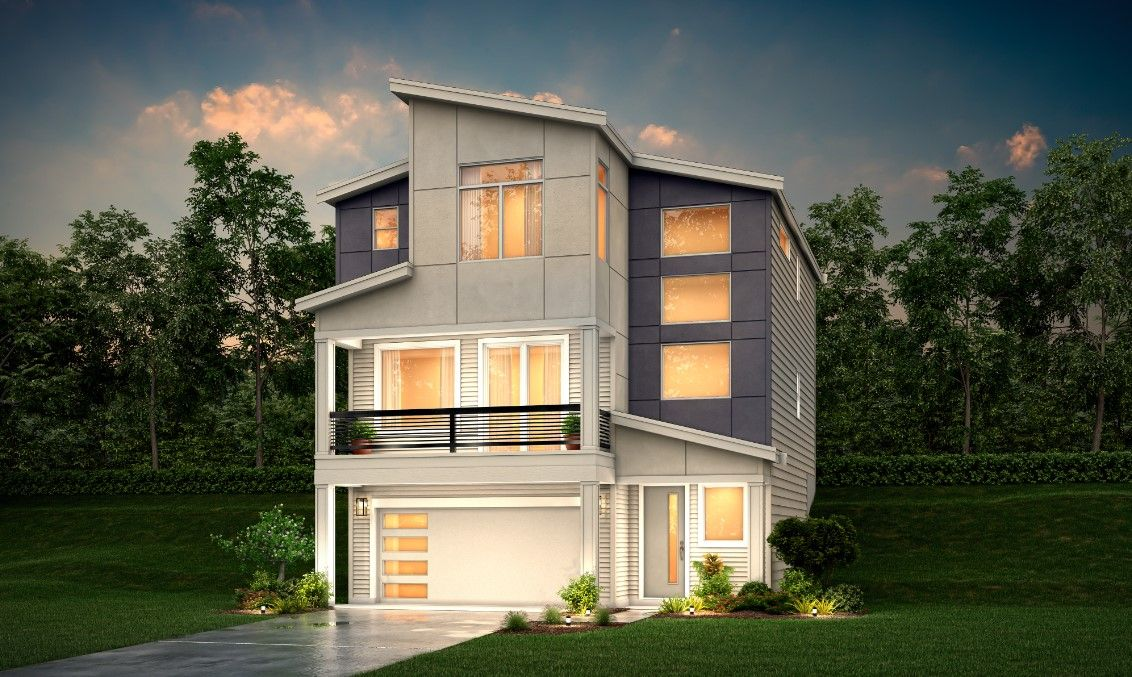 Exterior featured in The Raymond By Century Communities in Seattle-Bellevue, WA