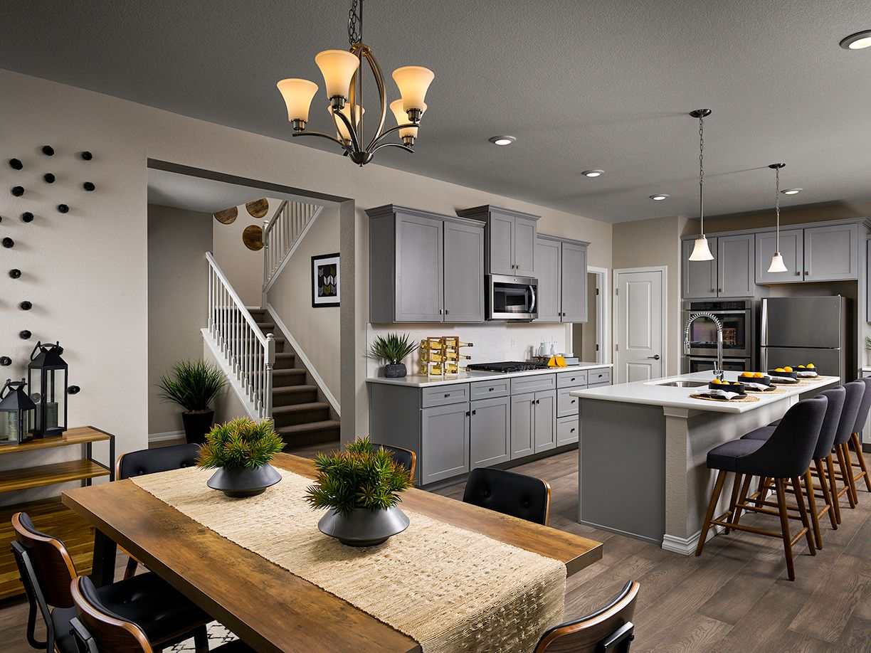 Kitchen featured in the Ascent (Residence 30210) By Century Communities in Colorado Springs, CO