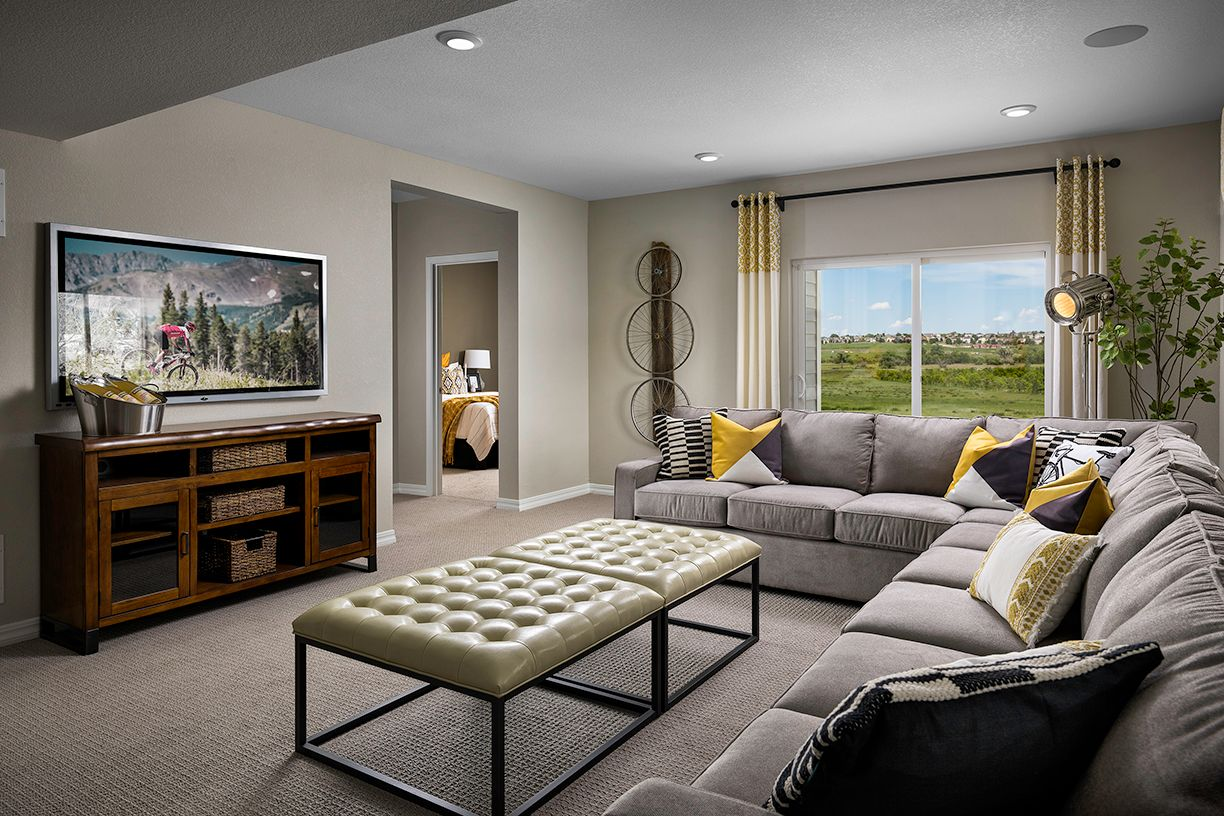 Living Area featured in the Ascent (Residence 30210) By Century Communities in Colorado Springs, CO