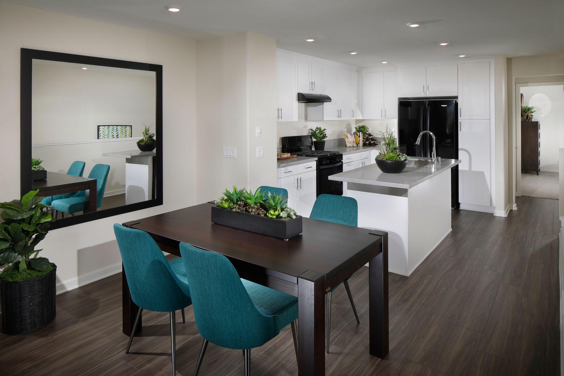 Kitchen featured in the Towns Plan 1 By Century Communities in Riverside-San Bernardino, CA