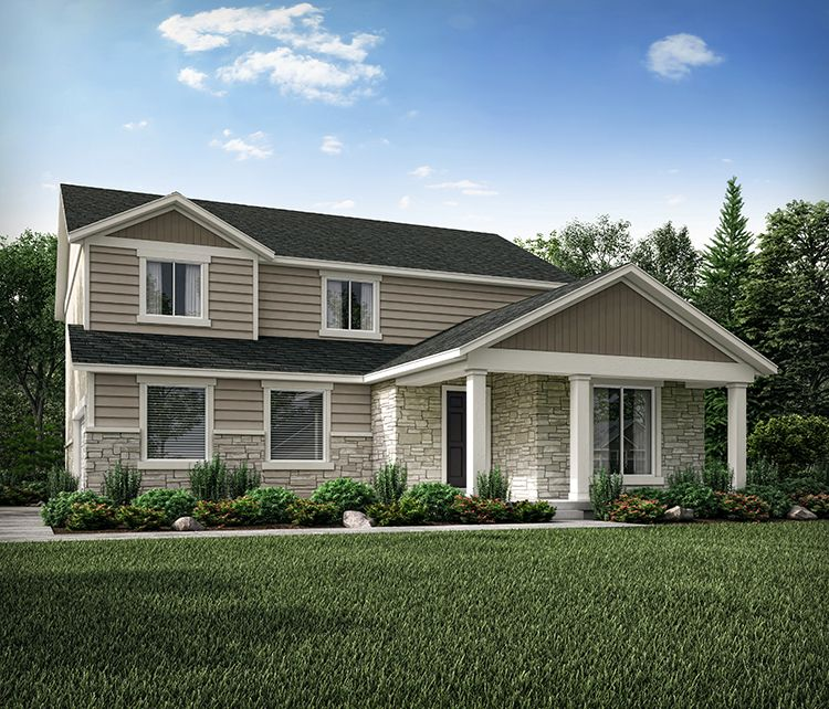 Exterior featured in the Huntington By Century Communities in Provo-Orem, UT