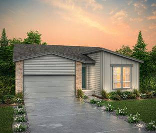 The Palisade (Residence 39102) - Enclave - The Enclave at Stonebridge at Meridian Ranch: Falcon, Colorado - Century Communities
