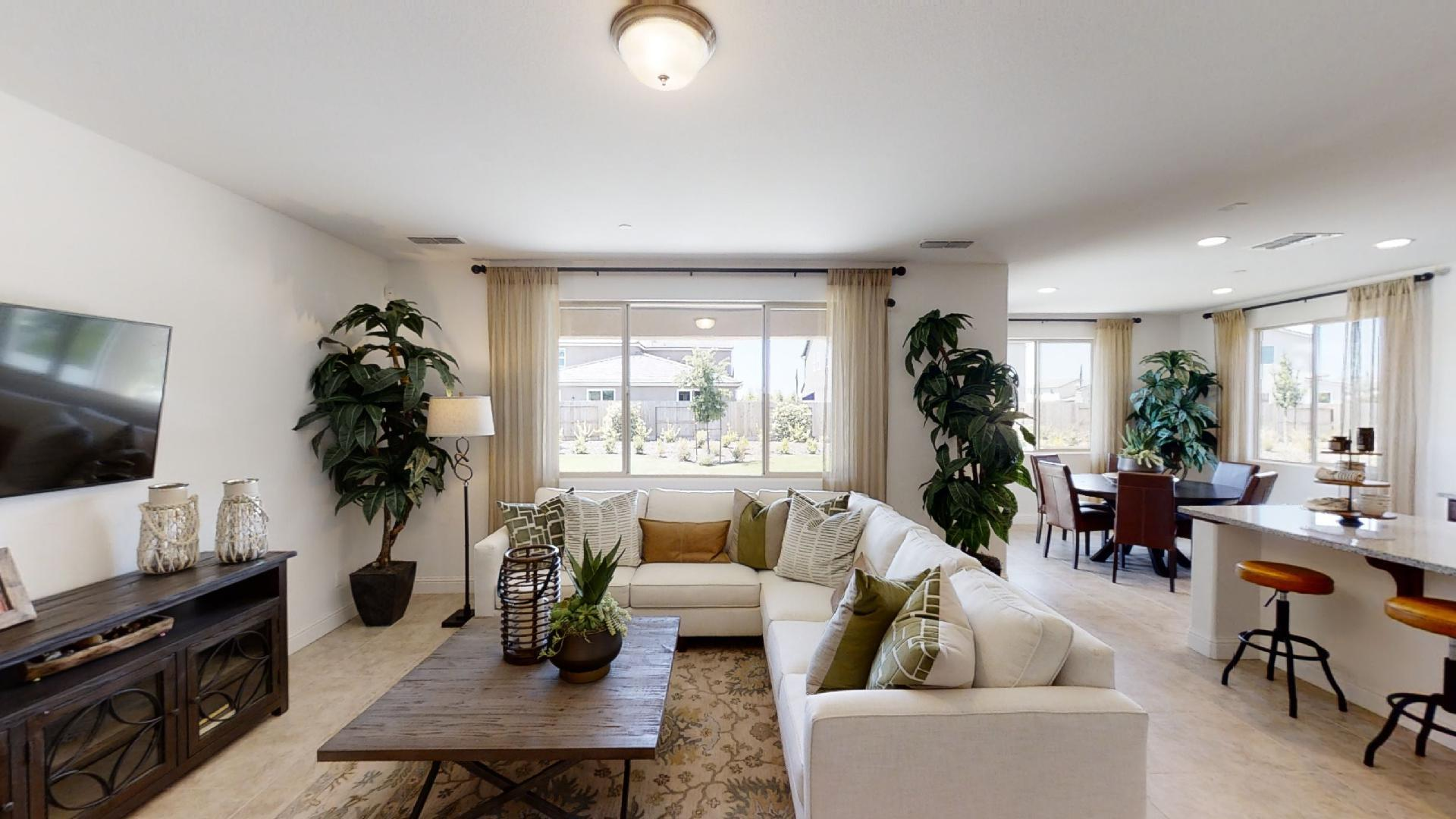 Living Area featured in the Sage By Century Communities in Fresno, CA