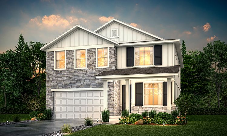 Exterior featured in the Cottonwood By Century Communities in Salt Lake City-Ogden, UT