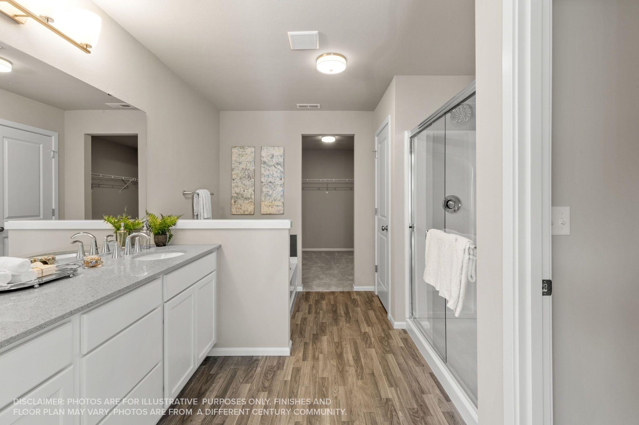 Bathroom featured in the Warren By Century Communities in Olympia, WA