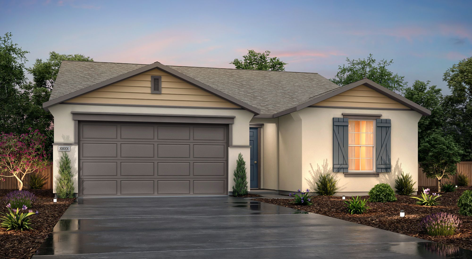 Exterior featured in the Echo By Century Communities in Fresno, CA