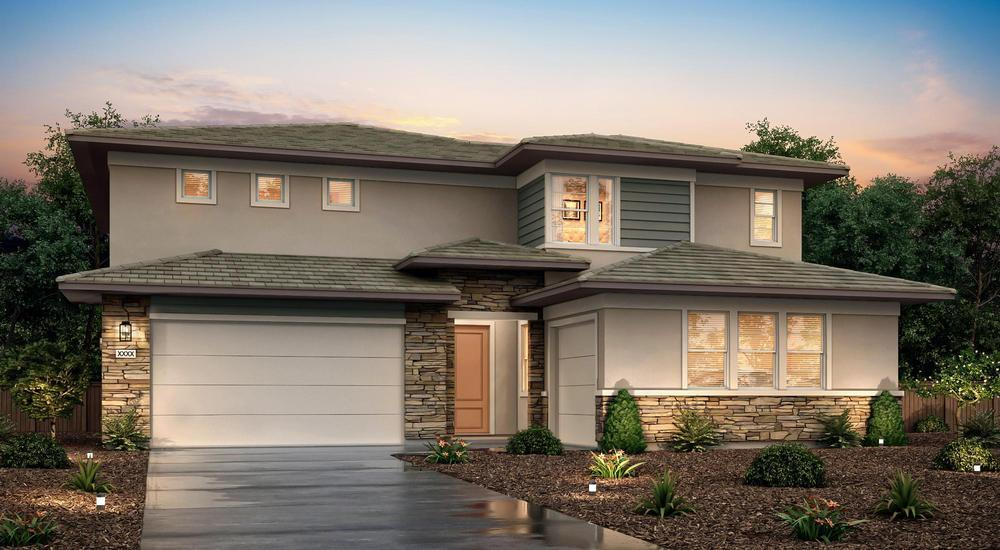 Exterior featured in the PLAN 3063 - The Princeton By Century Communities in Stockton-Lodi, CA