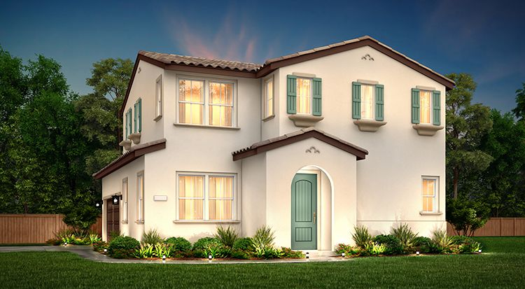 Exterior featured in the Plan 1A By Century Communities in Stockton-Lodi, CA
