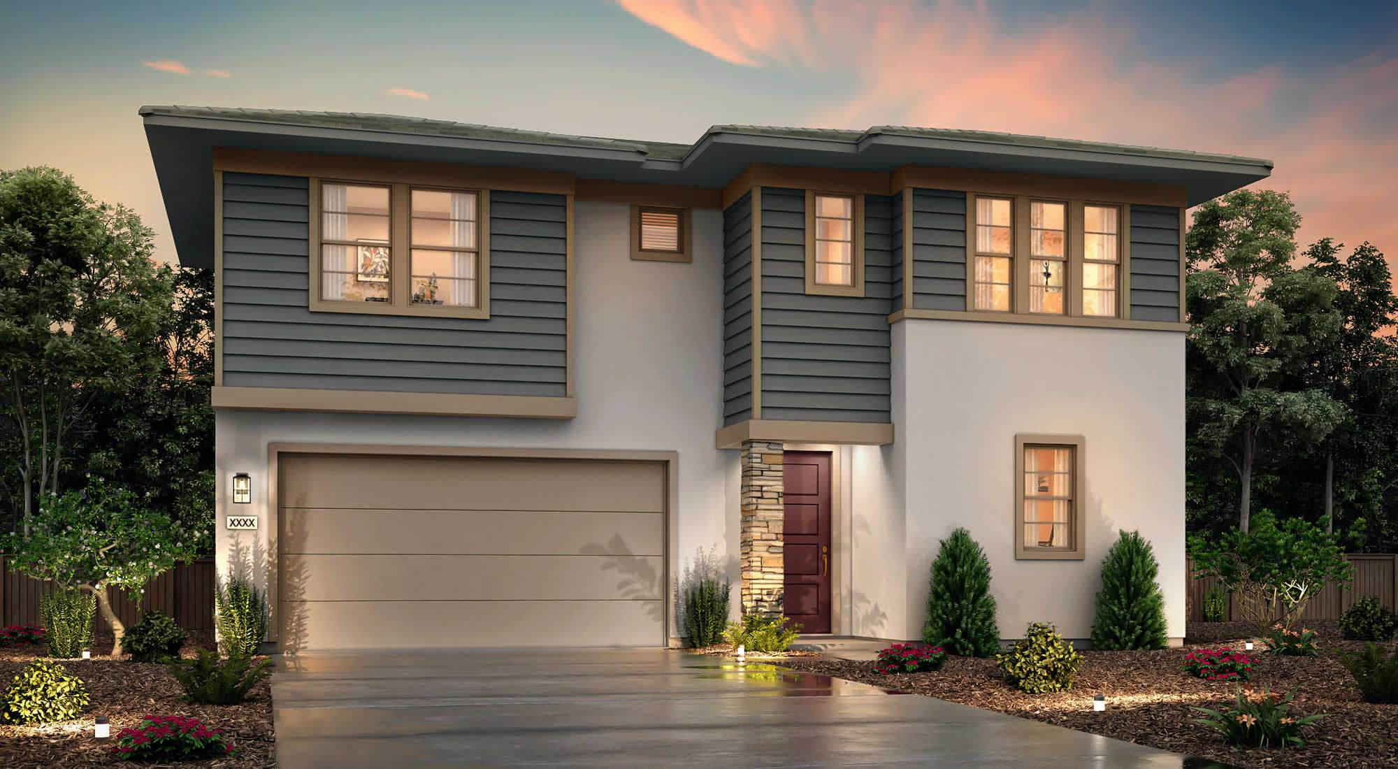 Exterior featured in The Baylor By Century Communities in Stockton-Lodi, CA