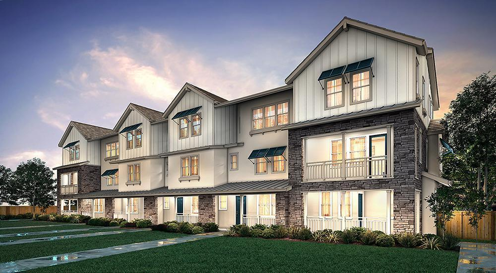 Exterior featured in The Cove II By Century Communities in Oakland-Alameda, CA