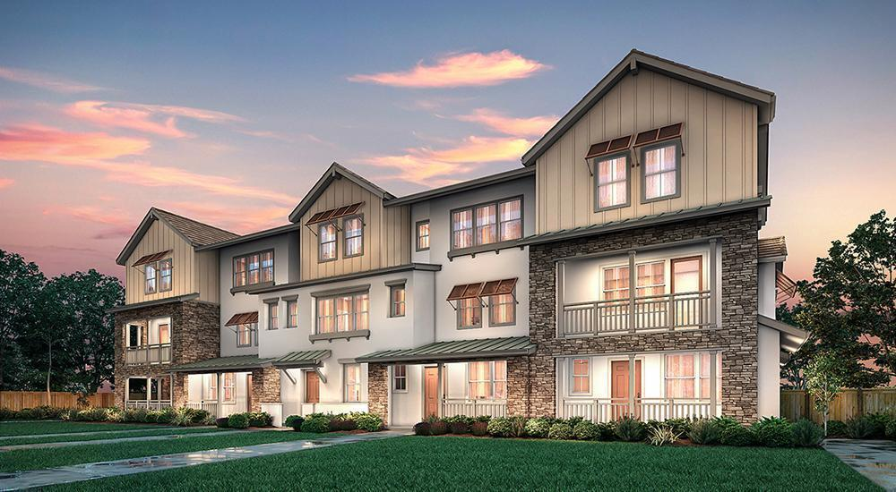Exterior featured in The Spring II By Century Communities in Oakland-Alameda, CA