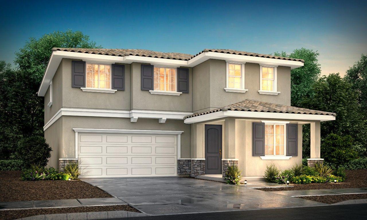 Exterior featured in the Plan 5 By Century Communities in Riverside-San Bernardino, CA