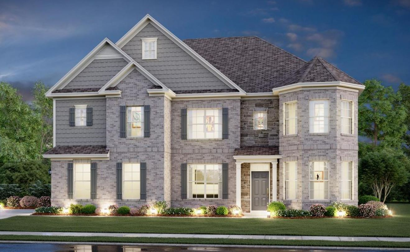 Exterior featured in the Reynolds By Century Communities in Atlanta, GA