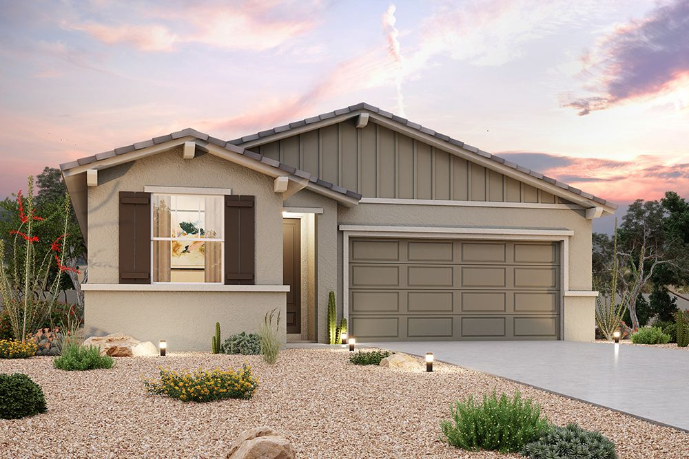 Exterior featured in the Residence 1523 By Century Communities in Phoenix-Mesa, AZ