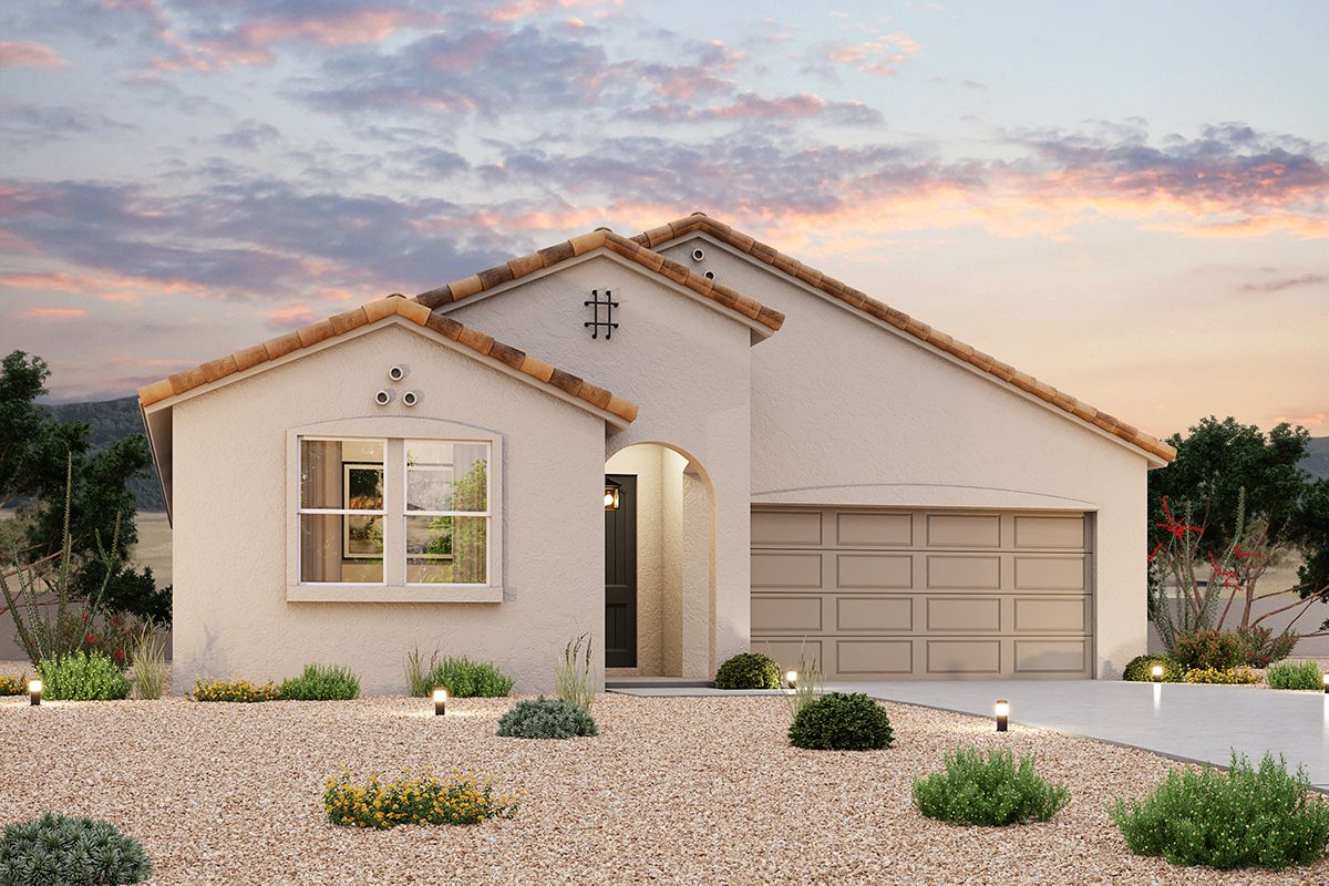 Exterior featured in the Residence 2233 By Century Communities in Phoenix-Mesa, AZ