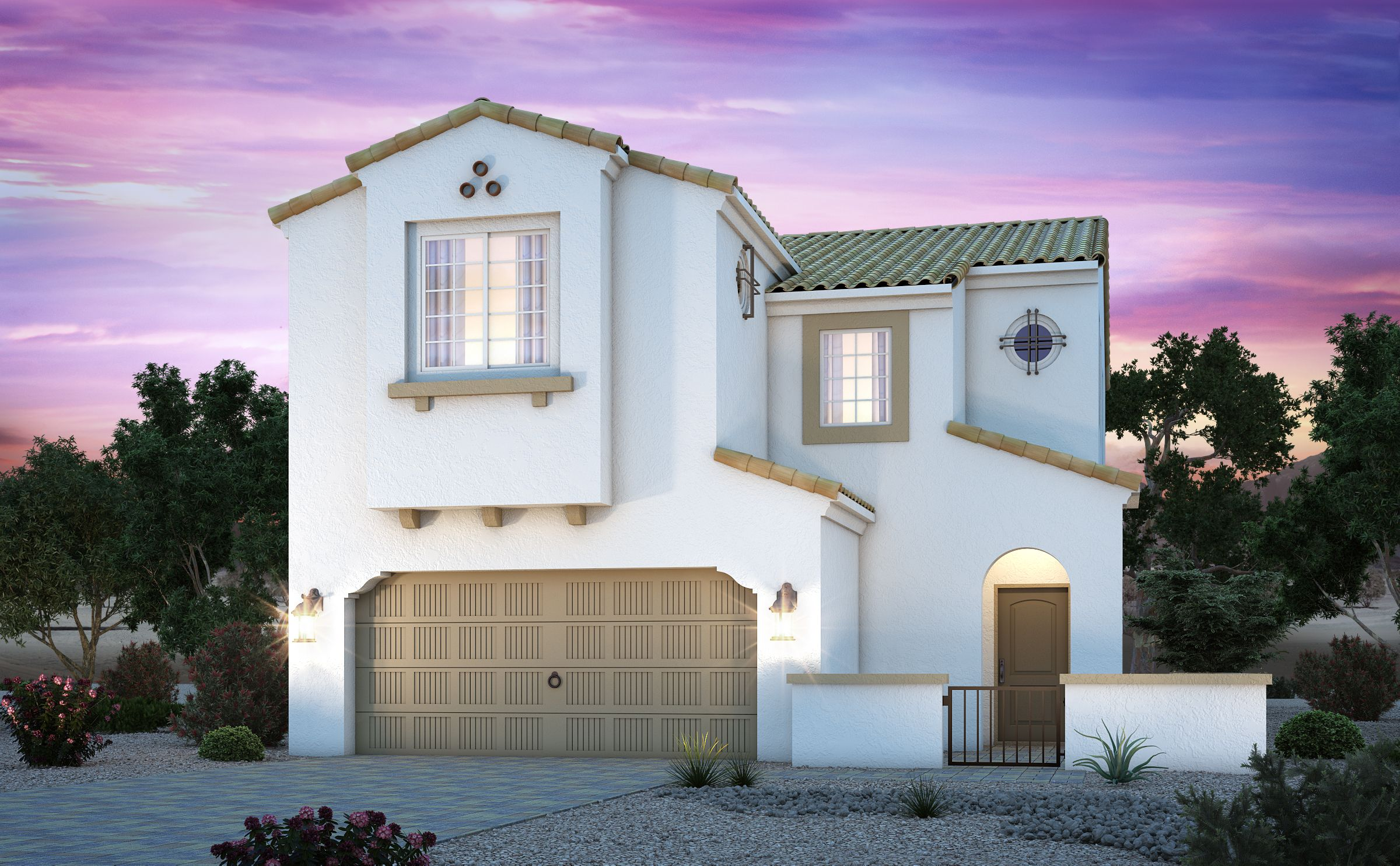 Exterior featured in the Residence 2259 By Century Communities in Las Vegas, NV