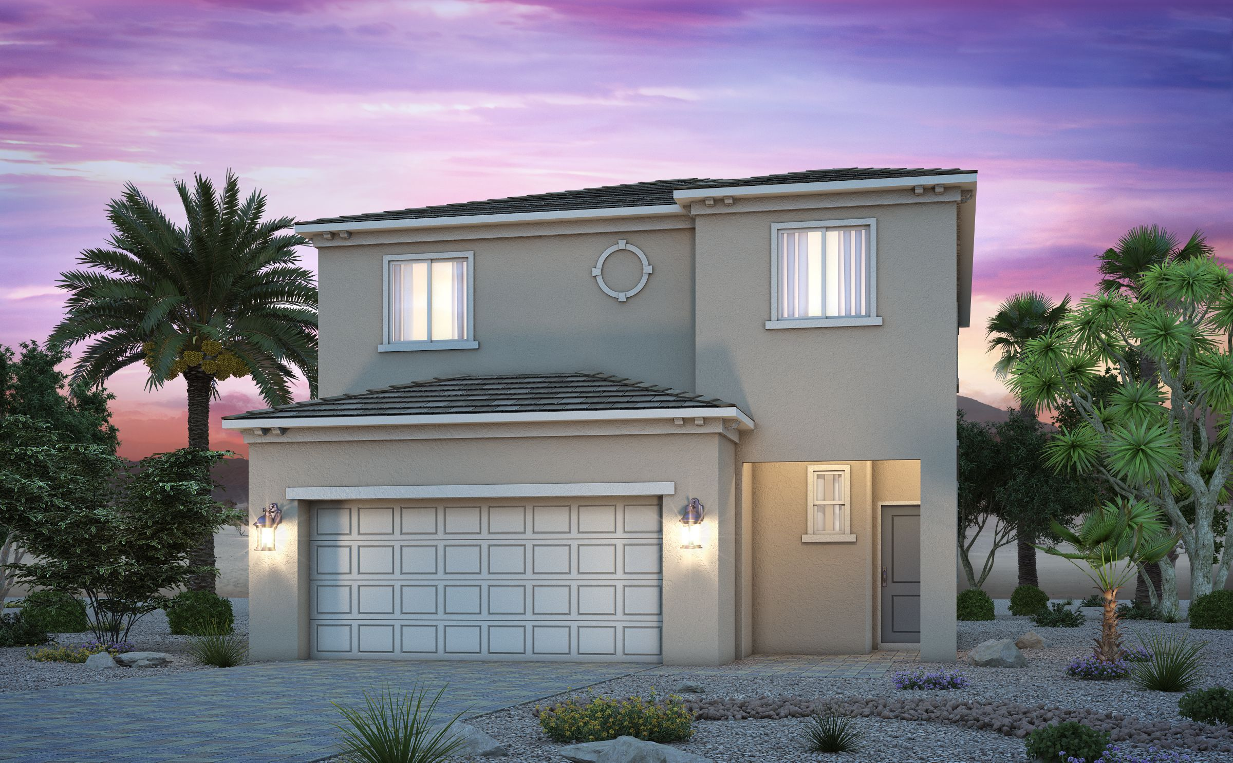 Exterior featured in the Residence 1735 By Century Communities in Las Vegas, NV