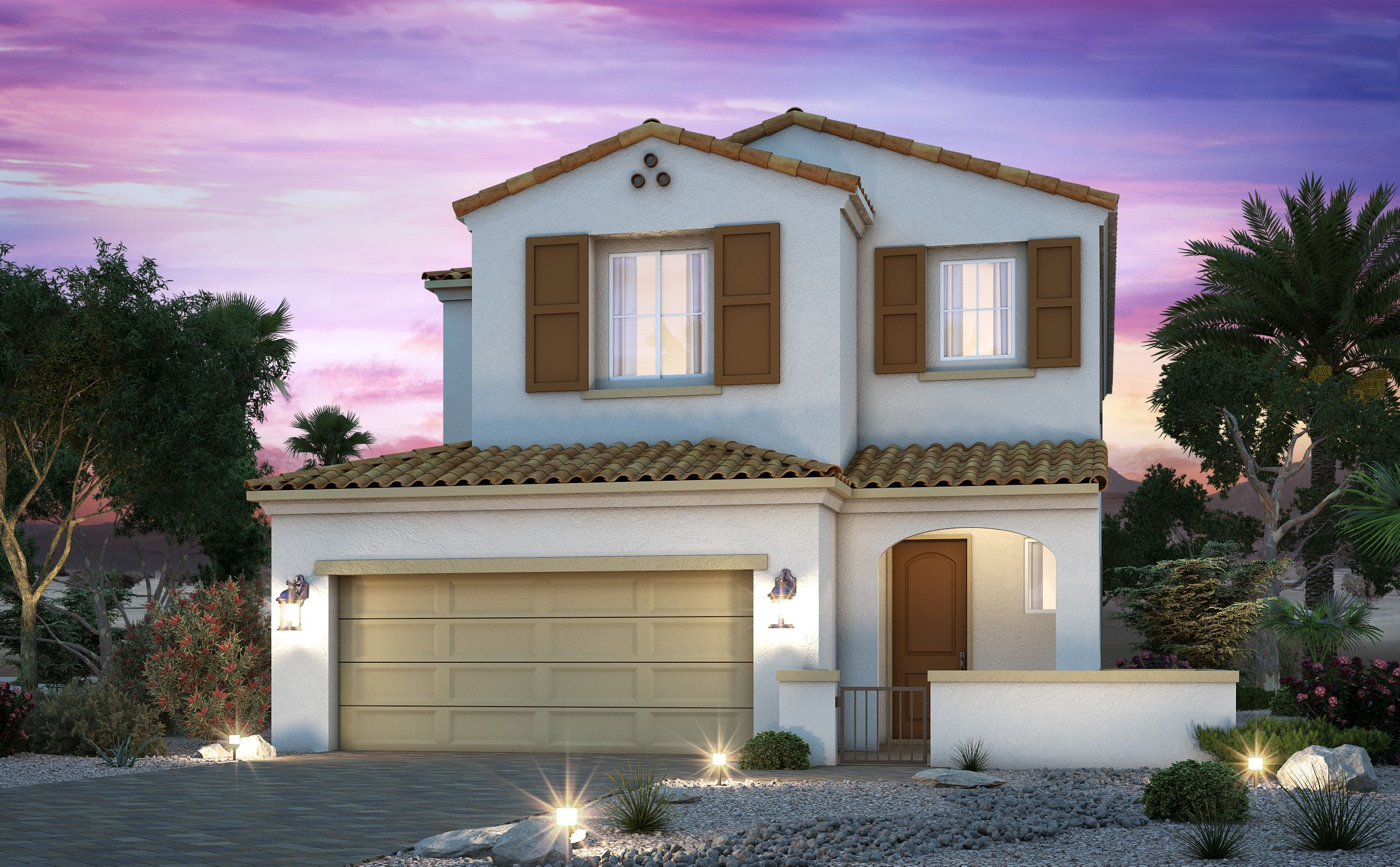 Exterior featured in the Residence 2396 By Century Communities in Las Vegas, NV