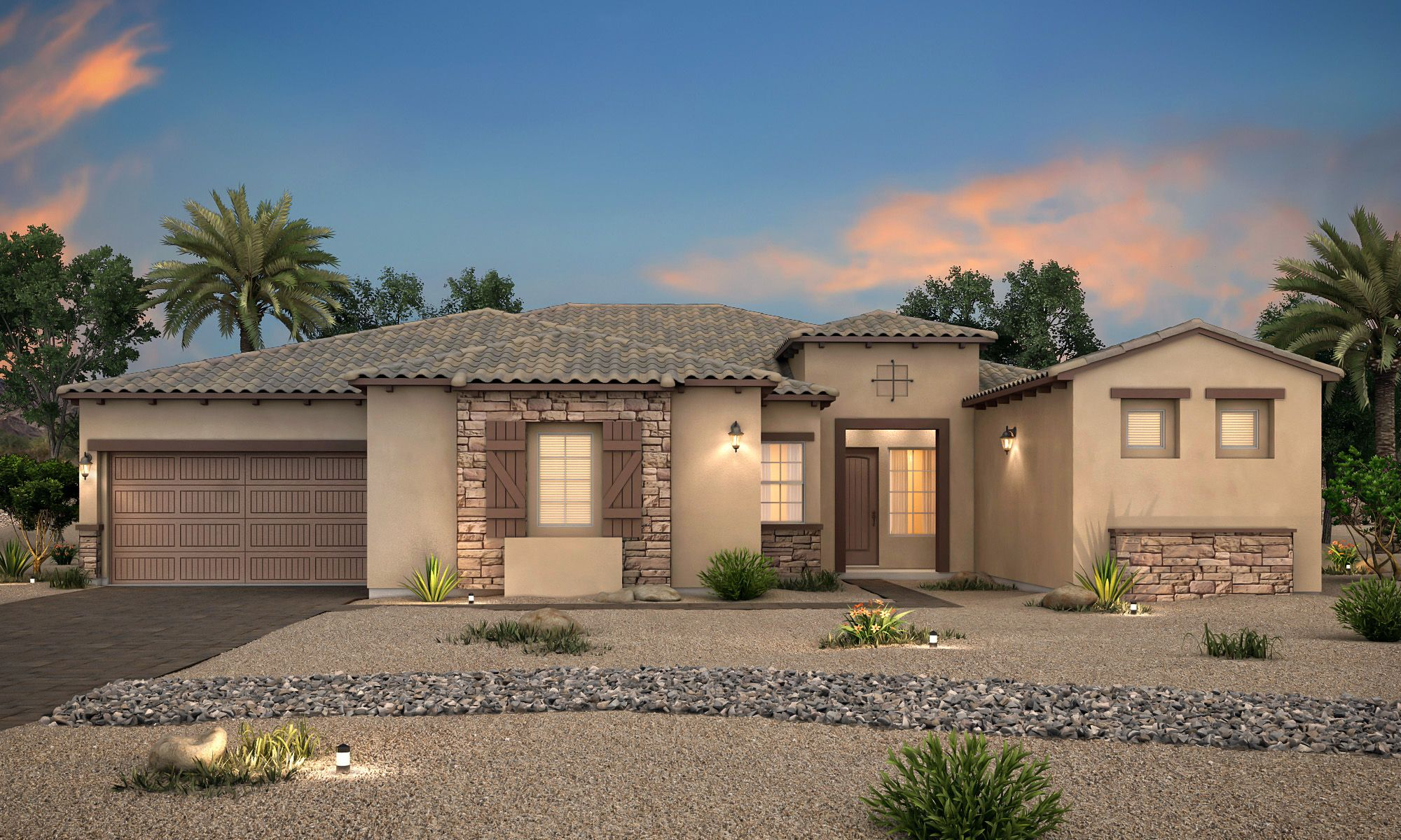 Exterior featured in the Residence 3704 By Century Communities in Las Vegas, NV
