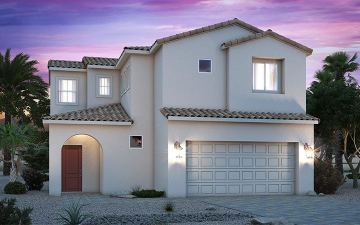 Exterior featured in the Residence 1603 By Century Communities in Las Vegas, NV