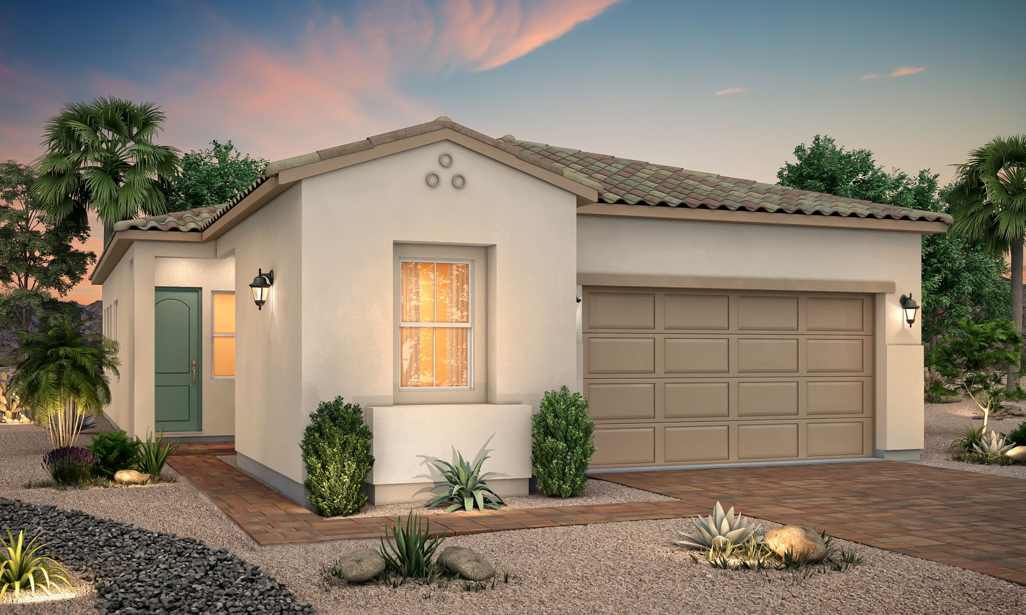 Exterior featured in the Residence 1635 By Century Communities in Las Vegas, NV