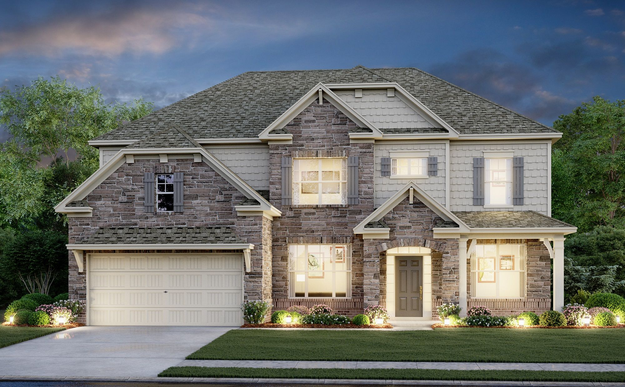 Exterior featured in the Bridgeport By Century Communities in Charlotte, SC