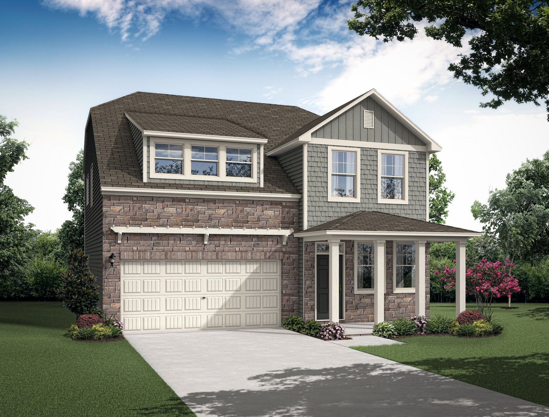 Exterior featured in the Jaxson By Century Communities in Charlotte, SC