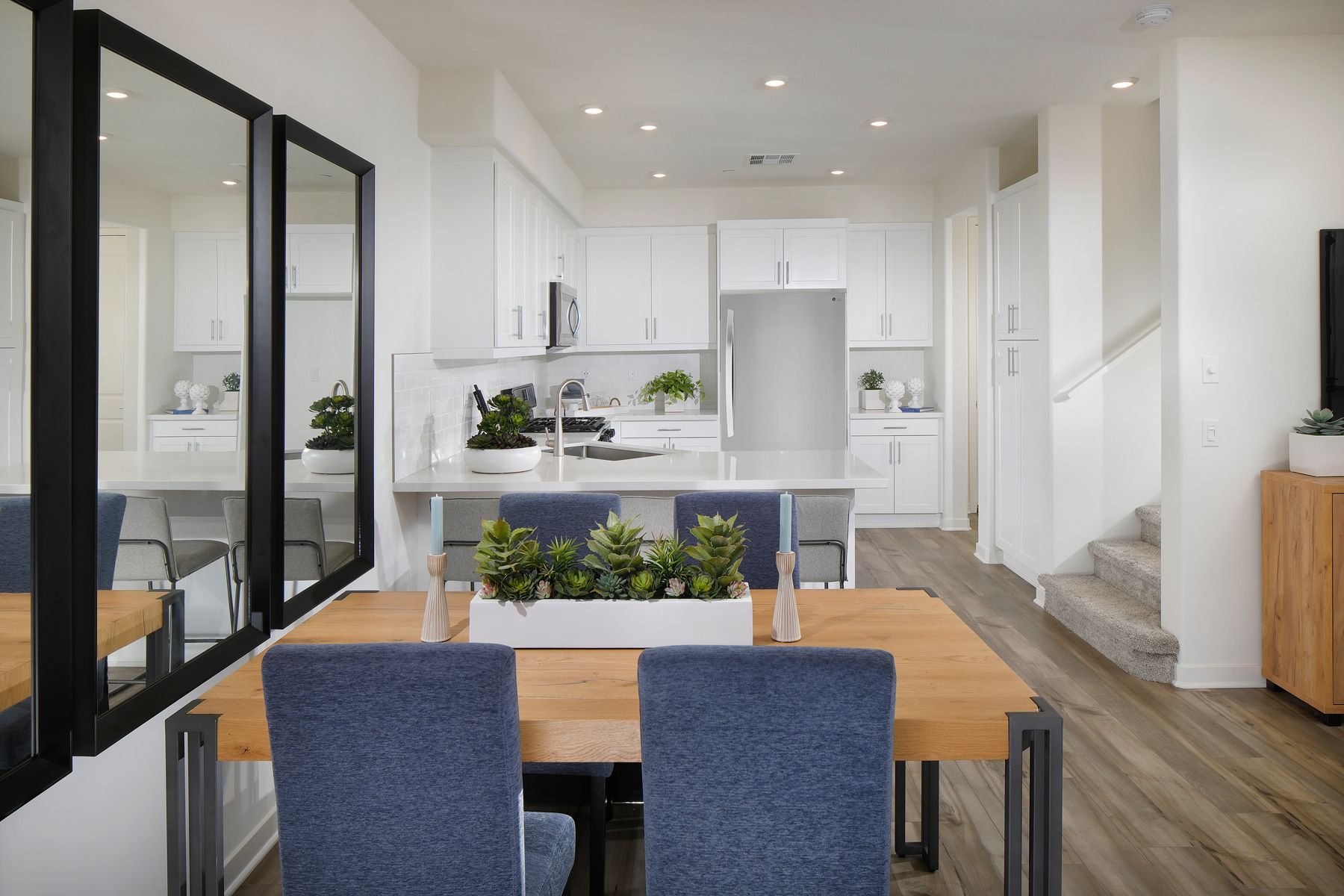 Kitchen featured in the Plan 1 By Century Communities in Los Angeles, CA