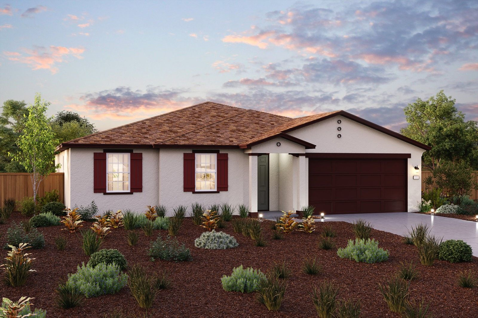 Exterior featured in the Sienna By Century Communities in Fresno, CA