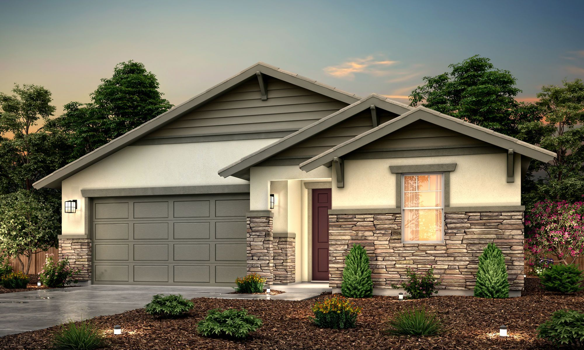 Exterior featured in the Jade By Century Communities in Fresno, CA