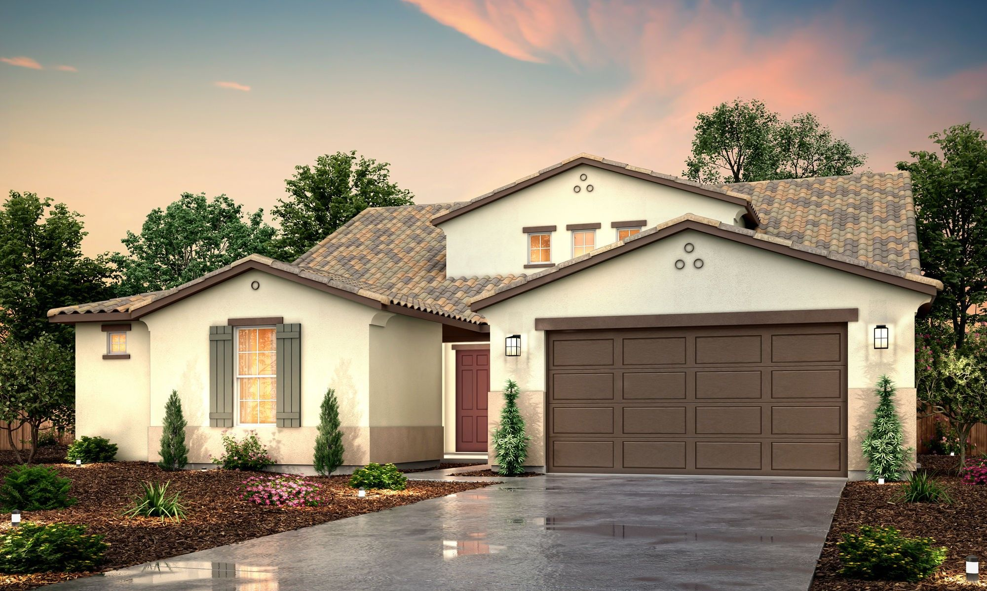 Exterior featured in the Jasper By Century Communities in Fresno, CA