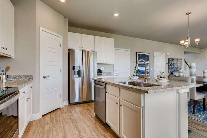 Kitchen featured in The Silverthorne (Residence 39206) - Enclave By Century Communities