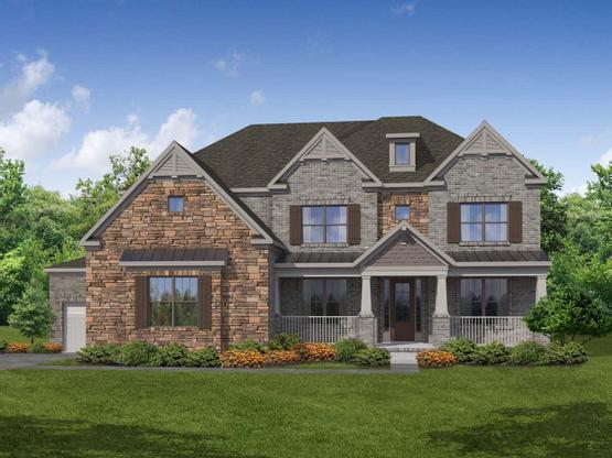 Castleberry by Chafin Communities:Elevation B