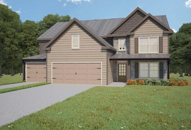 Cottonwood by Chafin Communities:Elevation A