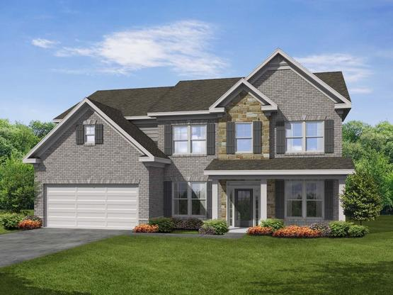 Shiloh II by Chafin Communities:Elevation F