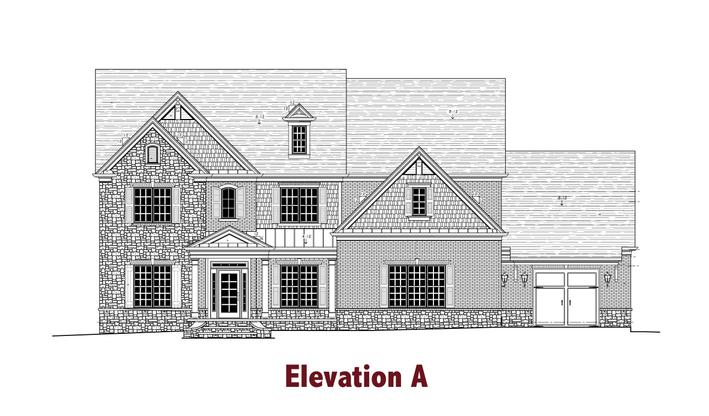 Oglethorpe by Chafin Communities:Elevation A